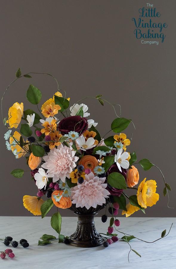 Still Life Sugar Flowers
