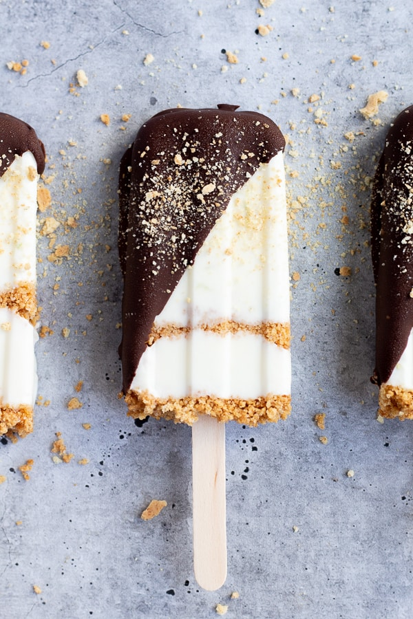 Chocolate Dipped Key Lime Pops