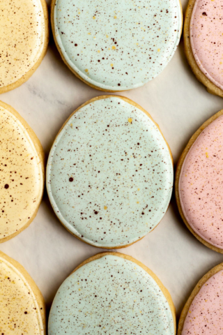 Speckled Egg Cookies
