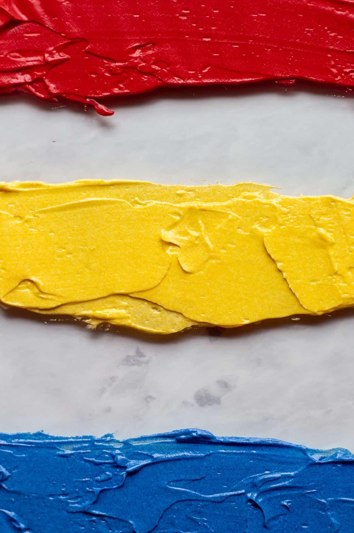 Coloring Buttercream