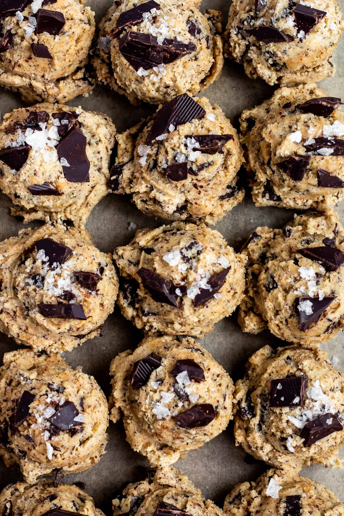Espresso Toffee Chocolate Chunk Cookies
