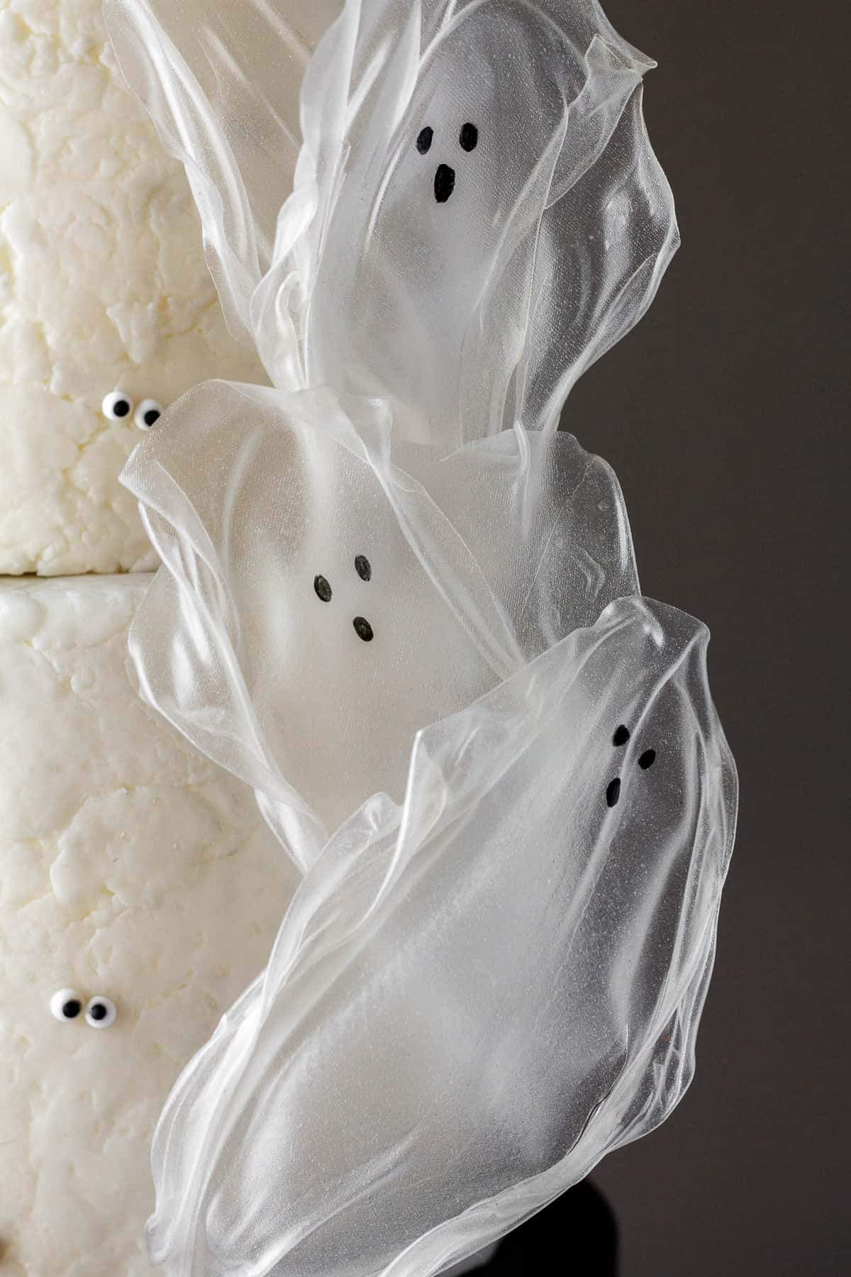 Rice Paper Ghosts