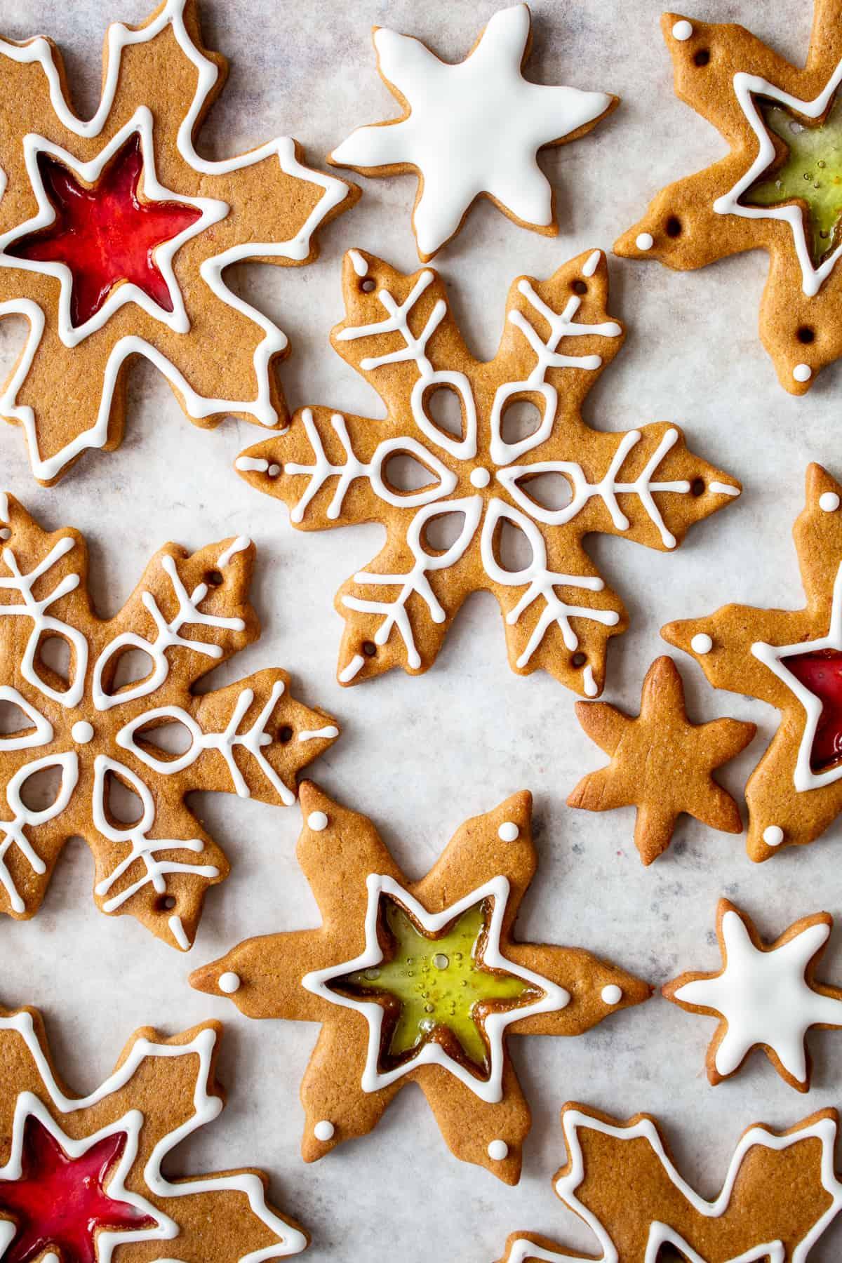 Gingerbread Cookie Wreath