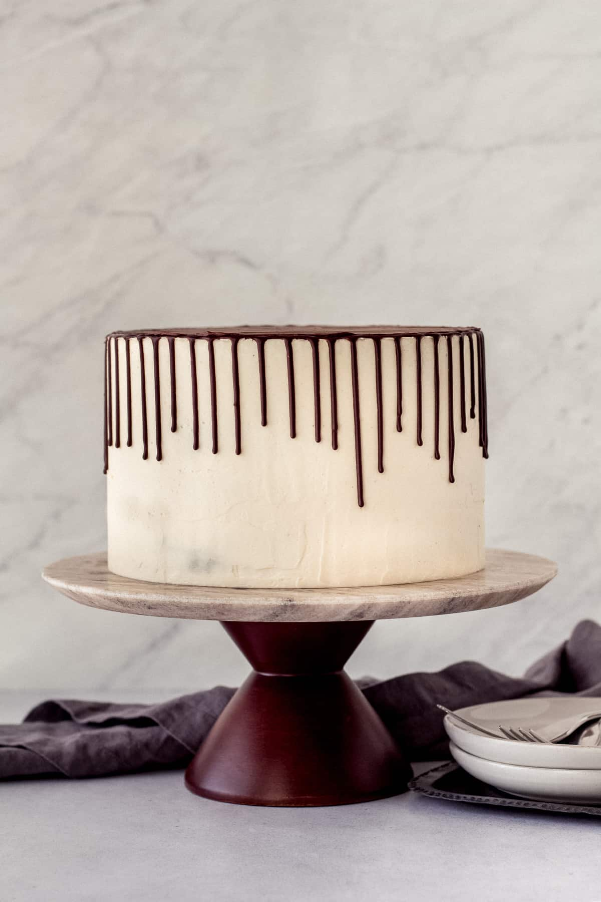 Chocolate Stout Layer Cake