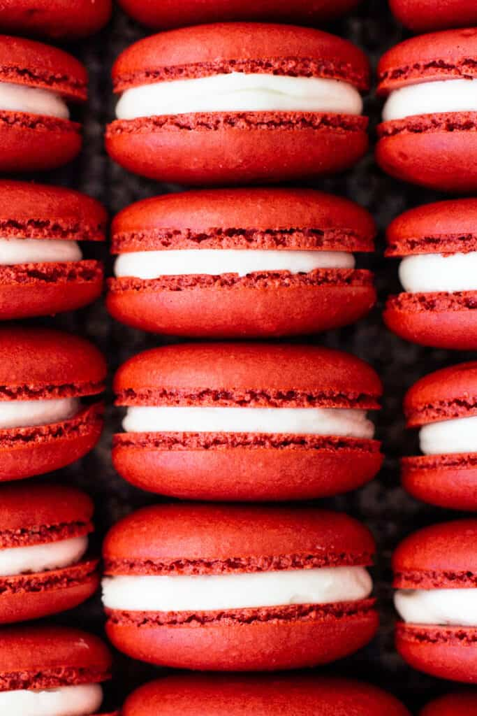 Red Velvet Macs
